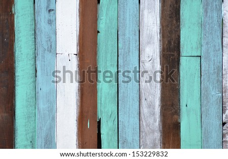 Painted wood panel