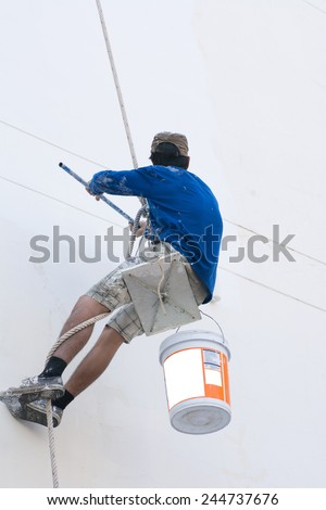 Painter - stock photo