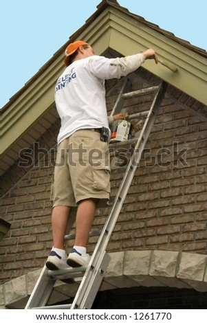 Painting House Exterior Stock Images, Royalty-Free Images ...