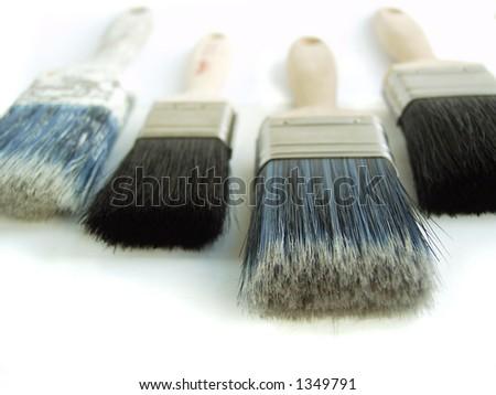 Painters Tools - stock photo