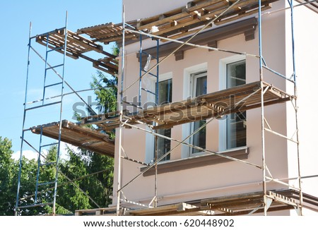 Stucco Repair Stock Images, Royalty-Free Images & Vectors ...