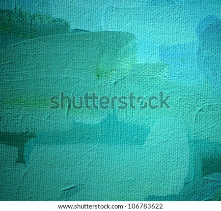 painting by oil on a canvas, illustration,  background - stock photo