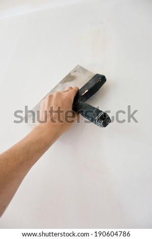 painting renovation   - stock photo