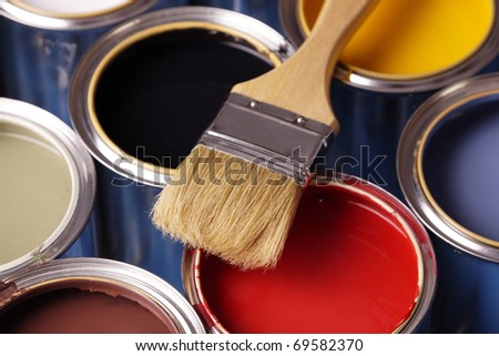 Painting Your Home! - stock photo
