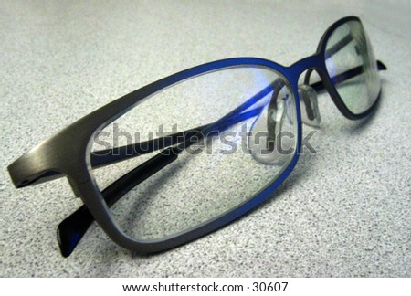 Pair of glasses - stock photo