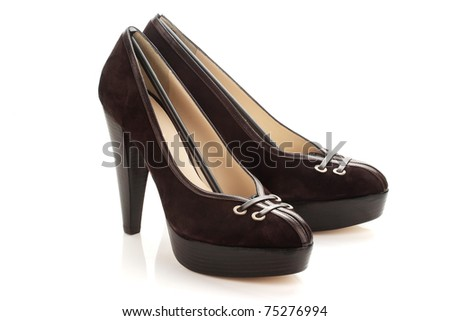 pair of womens shoes