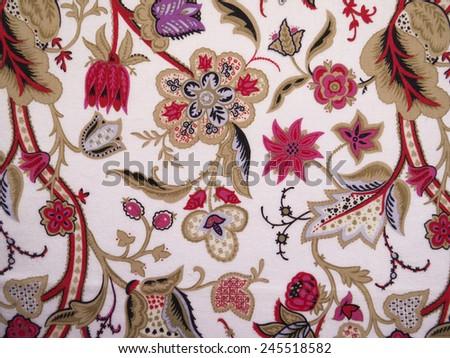paisley pattern - stock photo