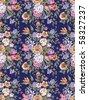 paisley seamless background pattern - stock photo