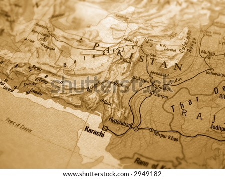 Pakistan - stock photo