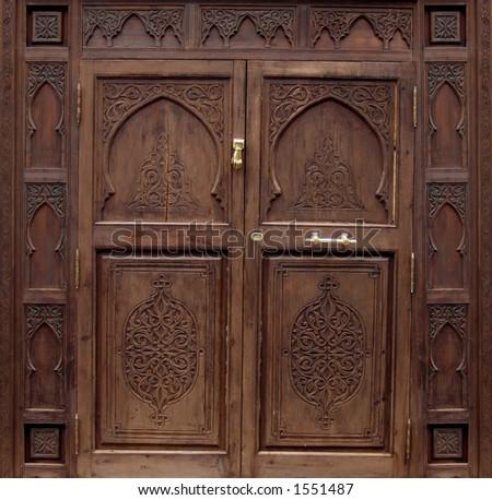 Pakistan Door - stock photo