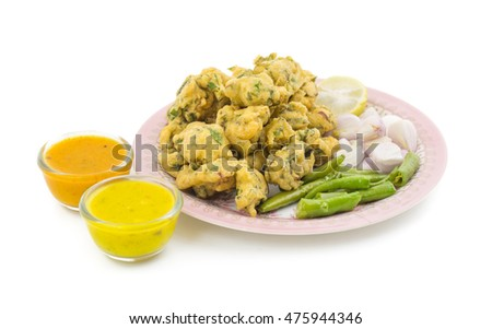 pakora, also called onion bhaji, pakoda or bhajis is a fried snack. Originally from India, it is found across the Indian subcontinent, especially in India, Bangladesh and Pakistan