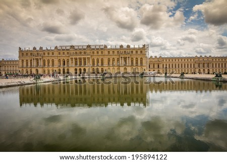Palace de Versailles, France - stock photo