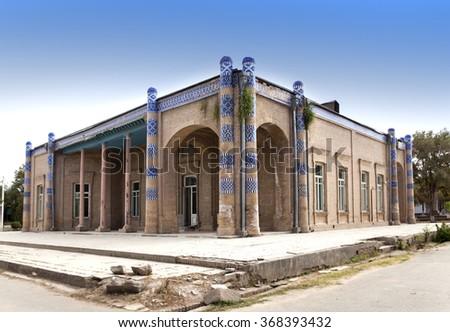 Palace of Nurullabay. Khiva, Uzbekistan - stock photo