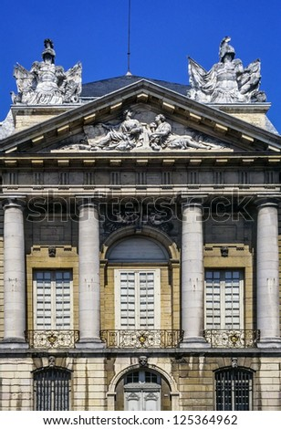 palace of the dukes in dijon burgindy france