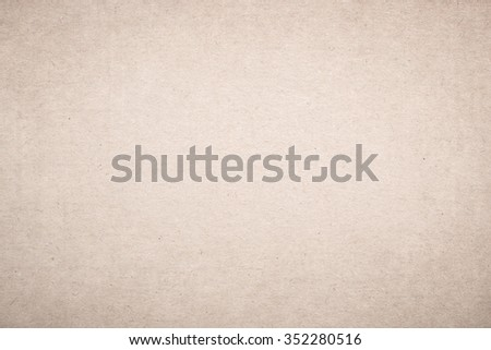 Pale Beige Paper Texture - stock photo
