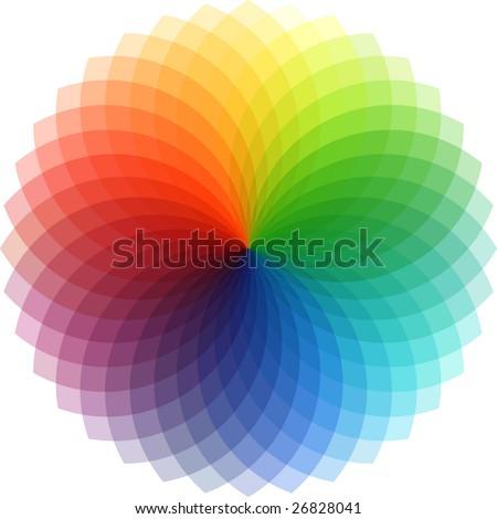 palette. - stock photo