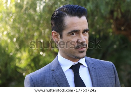 PALM SPRINGS, CA - JAN 5: Colin Farrell at the 10 Directors to Watch brunch at The Parker Hotel on January 5, 2014 in Palm Springs, California - stock photo