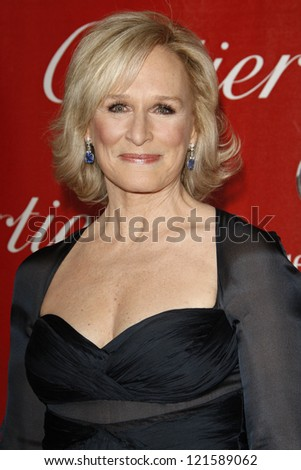 PALM SPRINGS, CA - JAN 7: Glenn Close at the 23rd Annual Palm Springs International Film Festival Awards Gala at the Palm Springs Convention Center on January 7, 2012 in Palm Springs, California - stock photo