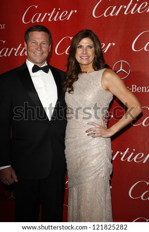 PALM SPRINGS, CA - JAN 7: Mary Bono; Connie Mack IV at the 23rd Annual Palm Springs International Film Festival Awards Gala at the Palm Springs Convention Center on January 7, 2012 in Palm Springs, CA - stock photo