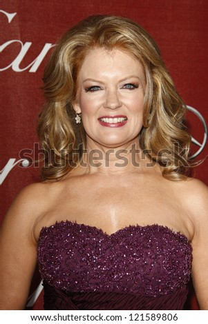 PALM SPRINGS, CA - JAN 7: Mary Hart at the 23rd Annual Palm Springs International Film Festival Awards Gala at the Palm Springs Convention Center on January 7, 2012 in Palm Springs, California - stock photo