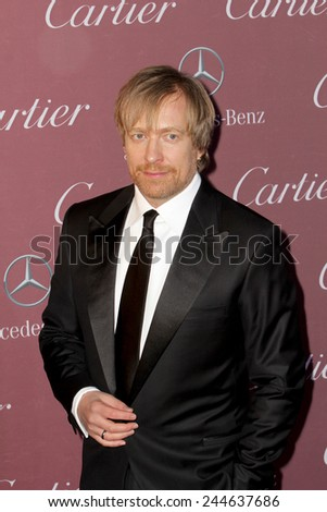 PALM SPRINGS, CA - JAN 3: Morten Tyldum arrives at the 2015 Palm Springs International Film Festival Awards Gala at the Palm Springs Convention Center on January 3, 2015 in Palm Springs, CA. - stock photo