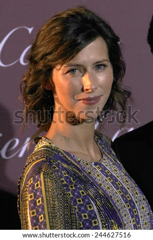 PALM SPRINGS, CA - JAN 3: Sophie Hunter arrives at the 2015 Palm Springs International Film Festival Awards Gala at the Palm Springs Convention Center on January 3, 2015 in Palm Springs, CA. - stock photo