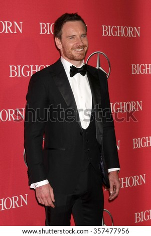 PALM SPRINGS - JAN 2:  Michael Fassbender at the 27th Palm Springs International Film Festival Gala at the Convention Center on January 2, 2016 in Palm Springs, CA