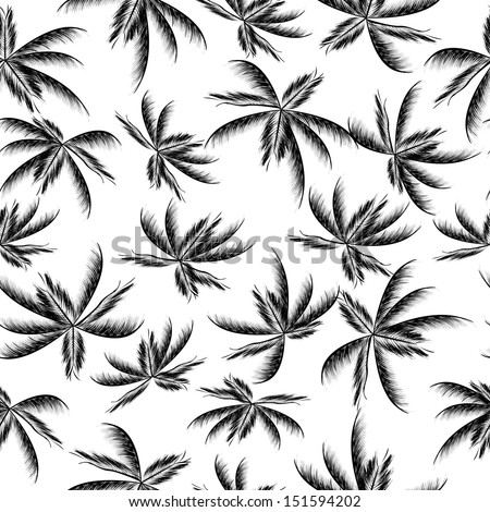 Palm Tree Pattern Wallpaper Palm Trees Pattern Stock