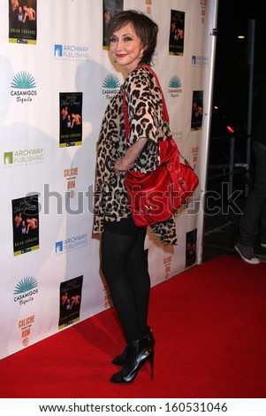 "Pam Tillis at the ""Enter Miss Thang"" Book Launch Party, Cafe Habana, Malibu, CA 10-21-13 - stock photo"