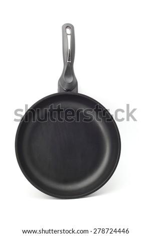 pan isolated on white background - stock photo