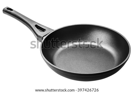 pan isolated on white background Clipping Path - stock photo