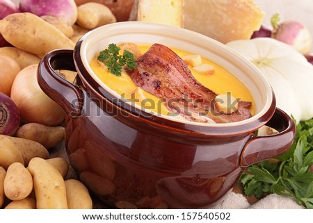 pan of soup