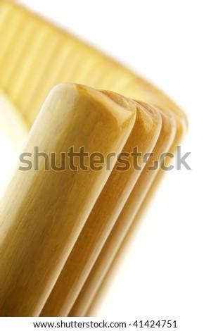Pan-pipe - stock photo