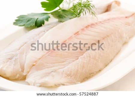Pangasius Fillet - stock photo