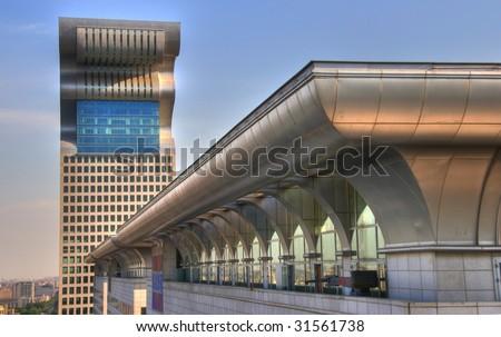 Pangu Plaza (Beijing) - stock photo