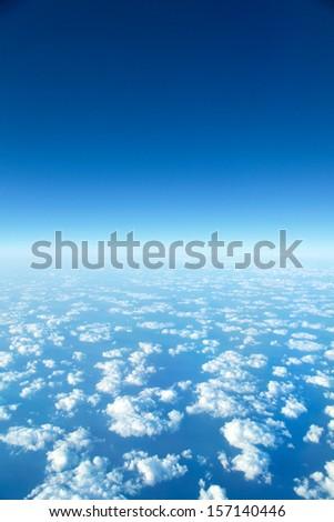 panorama Cloudscape - stock photo
