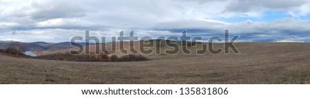 Panorama landscape - stock photo