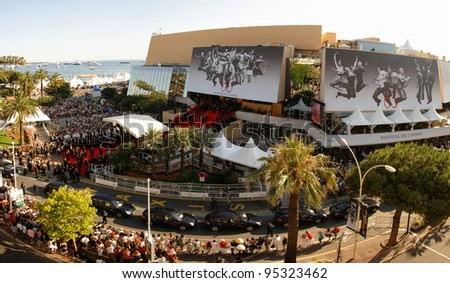 Panorama of Le Palais des Festivals during the 60th Annual International Film Festival de Cannes. May 18, 2007  Cannes, France.  2007 Paul Smith / Featureflash - stock photo