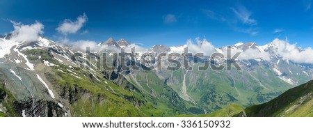 Panorama of the Glockner Group
