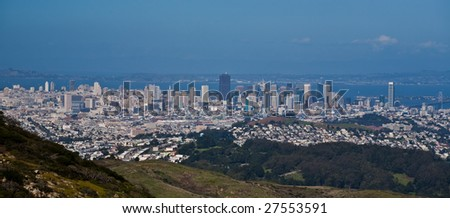 Panoramic view of San Francisco