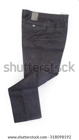 pant's or men's trousers on a background