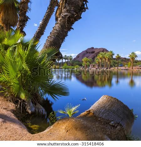 Papago Park - stock photo