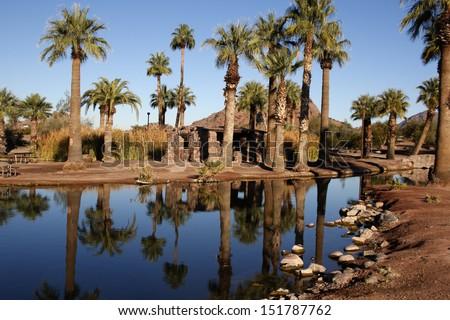 Papago Ponds, Arizona, USA - stock photo