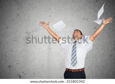 Paper. - stock photo