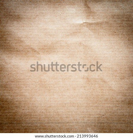Paper abstract background, texture of crumpled paper. Empty paper form for the stage of installation