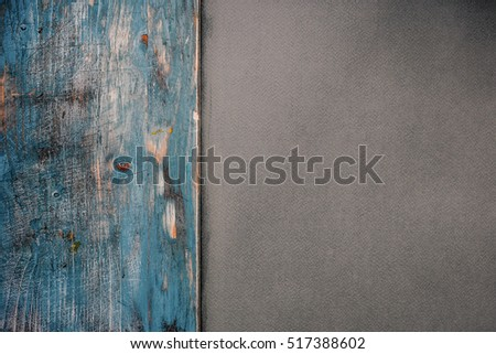 paper and wood background