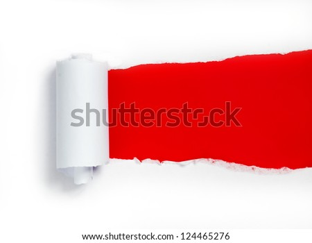 Paper background with space for your own text - stock photo