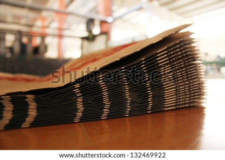 Paper bag - stock photo