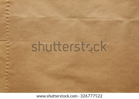Paper bag texture background - stock photo