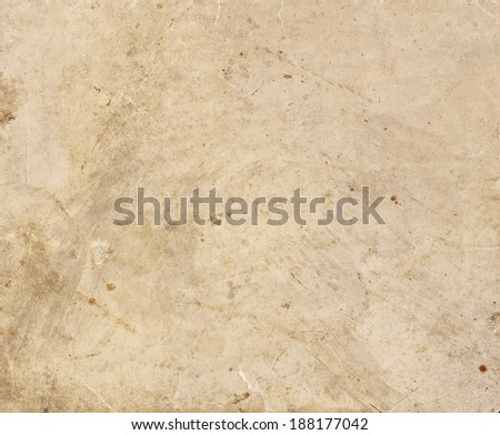 Paper brown and beige with dirt
